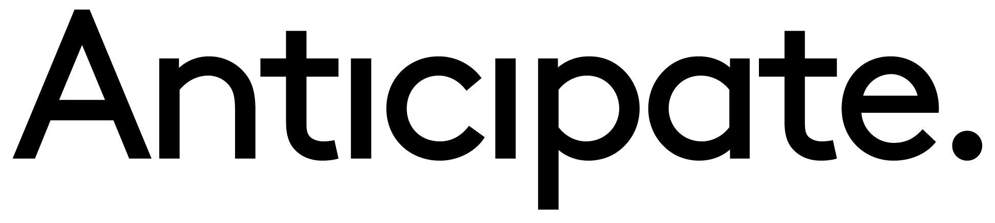 Logo Anticipate Black