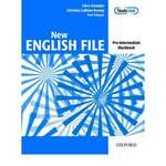Oxford NEW ENGLISH FILE Pre-Intermediate Workbook with Key Booklet & MultiROM