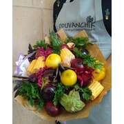 Овощные букеты (25 см диаметр)