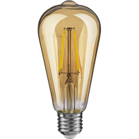 Dekor lampa E 27 4 vt led 2500 k