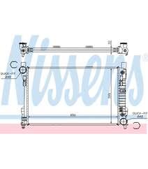 Radiator Nissens 62786A  2035003903