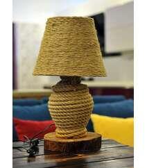Əl işi gecə lampası