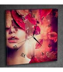 Canvas divar saatı şəkilli