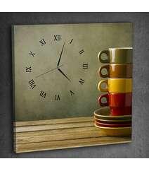 Canvas divar saatı DYI-79-S