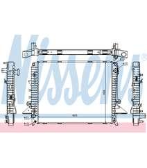 Radiator Nissens 64321A  PCC500610