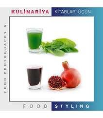 Kulinariya kitabları üçün Food Photography və Food Styling