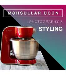 """Məhsullar üçün """"Photografphy & Styling"""""""