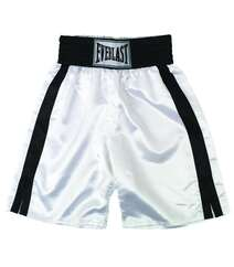 Boks şort - PRO BOXING TRUNKS 24 (61 CMS) WHITE BLACK