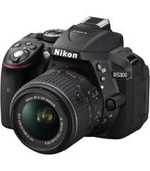 Nikon D5300 DSLR with 18-55mm Lens