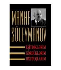 Manaf Süleymanov - Eşitdiklərim, gördüklərim, oxuduqlarım