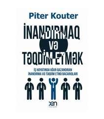 Piter Kouter - İnandırmaq və təqdim etmək