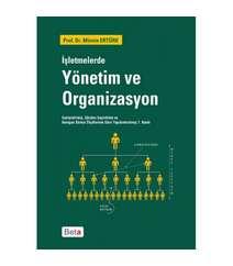 Mümin Ertürk - İşletmelerde Yönetim ve Organizasyon