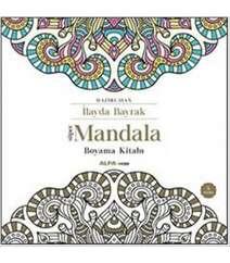 İlayda Bayrak - Süper Mandala Boyama Kitabı