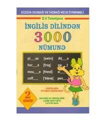İngilis dilindən 3000 nümunə