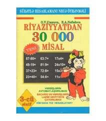 Riyaziyyatdan 30 000 misal (3-cü sinif)