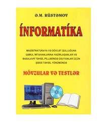 Ə.M.Rüstəmov - İnformatika