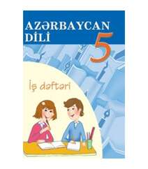 Azərbaycan dili iş dəftəri 5-ci sinif