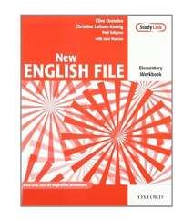 Oxford NEW ENGLISH FILE Elementary Workbook with Key Booklet