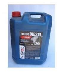 Motor Yağı - Venol Turbo Diesel CH-4/CG-4 15W40   20L