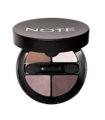 Note Luminous Silk Quattro Eyeshadow