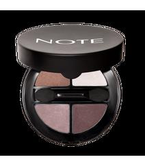 Note Luminous Silk Quattro Eyeshadow