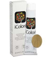 """İcolori professional saç boyası """"Parlaq ağ-gümüşü sarışın"""" - № 9 90 ml"""