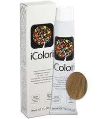 """İcolori professional saç boyası """"Açıq sarışın"""" - № 8,03 90 ml"""