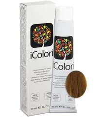 """İcolori professional saç boyası """"Tütün sarışın"""" - № 7,23 90 ml"""