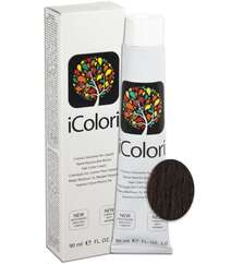 "İcolori professional saç boyası ""Mis şabalıd"" - № 4,4 90 ml [CLONE]"