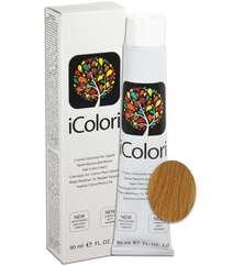 """İcolori professional saç boyası """"Çox açıq qızılı-mis sarışın"""" - № 9,34 90 ml"""