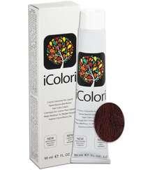 """İcolori professional saç boyası """"Tünd sarışın bənövşəyi çalarla"""" - № 6,2 90 ml"""