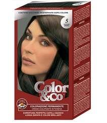 Kaypro Color and Co professional saç boyası №5.1 açıq qəhvəyi rəng