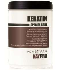 """Keratin special care"" Keratin tərkibli bərpaedici maska - 1000 ml"
