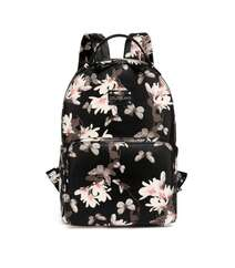 Ana çantası - Colorland Colorland backpack Gül dekorlu (Qara)