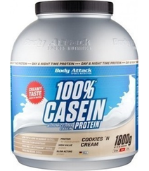 Body Attack 100 Casein protein CC 1800gr