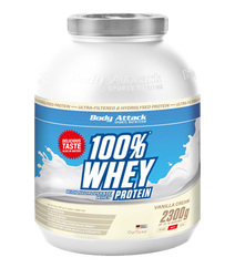 Body Attack 100 Whey Vanille 2300gr