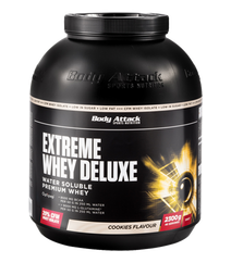 Body Attack Extreme Whey Deluxe Vanilla 2300gr