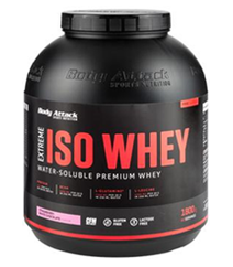 Body Attack ISO Whey Vanilla 1800gr