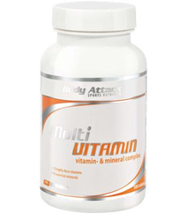 Body Attack Multi Vitamin 140gr