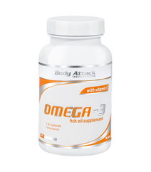 Body Attack Omega 3 with vitamin E