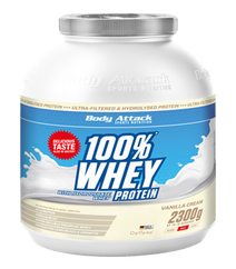 Body Attack 100 Whey Cookies Cream 2300gr