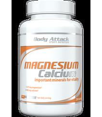 Body Attack Magnesium Calcium 250tabs