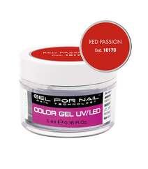 Gel for nail dırnaq üçün qırmızı gel UV/Led 5 ml