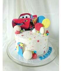 Торт в машинкой - 2 кг