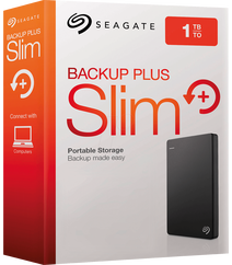 Ext.Hdd Seagate Backup Plus 1TB/USB 3.0 / Black