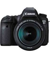 CANON EOS 6D DSLR CAMERA WITH 24-105MM F/3.5-5.6 IS STM LENS
