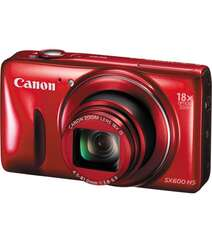 CANON POWERSHOT SX600 HS DIGITAL CAMERA RED