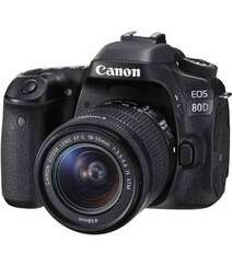 CANON EOS 80D DSLR CAMERA WITH EF-S 18-55MM F/3.5-5.6 IS STM LENS