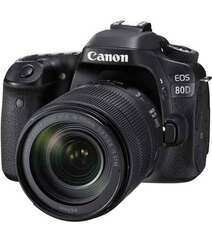 CANON EOS 80D DSLR CAMERA WITH EF-S 18-135MM F/3.5-5.6 IS STM LENS