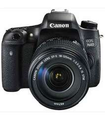 CANON EOS 760D DSLR WITH EF-S 18-135MM IS STM LENS